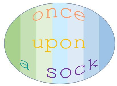 Once Upon A Sock Logo
